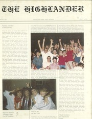 Page 1, 1985 Edition, Highland Park High School - Highlander Yearbook (Dallas, TX) online yearbook collection