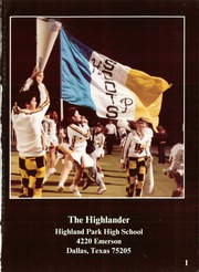 Page 5, 1985 Edition, Highland Park High School - Highlander Yearbook (Dallas, TX) online yearbook collection