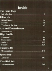Page 7, 1985 Edition, Highland Park High School - Highlander Yearbook (Dallas, TX) online yearbook collection