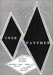 Page 5, 1958 Edition, Hillcrest High School - Panther Yearbook (Dallas, TX) online yearbook collection