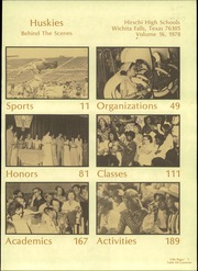 Page 5, 1978 Edition, Hirschi High School - Husky Yearbook (Wichita Falls, TX) online yearbook collection