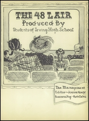 Page 5, 1948 Edition, Irving High School - Lair Yearbook (Irving, TX) online yearbook collection