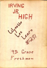 Page 3, 1951 Edition, Irving High School - Lair Yearbook (Irving, TX) online yearbook collection