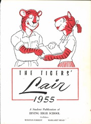 Page 5, 1955 Edition, Irving High School - Lair Yearbook (Irving, TX) online yearbook collection