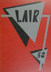 Page 1, 1958 Edition, Irving High School - Lair Yearbook (Irving, TX) online yearbook collection