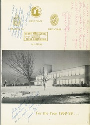 Page 5, 1959 Edition, Irving High School - Lair Yearbook (Irving, TX) online yearbook collection
