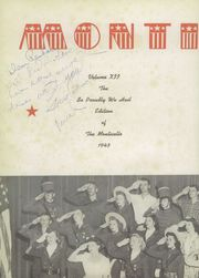 Page 6, 1943 Edition, Jefferson High School - Monticello Yearbook (San Antonio, TX) online yearbook collection