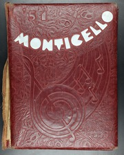 1951 Edition, Jefferson High School - Monticello Yearbook (San Antonio, TX)