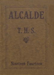 Page 1, 1914 Edition, John Tyler High School - Alcalde Yearbook (Tyler, TX) online yearbook collection