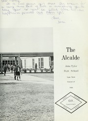 Page 7, 1969 Edition, John Tyler High School - Alcalde Yearbook (Tyler, TX) online yearbook collection