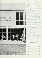 Page 9, 1969 Edition, John Tyler High School - Alcalde Yearbook (Tyler, TX) online yearbook collection