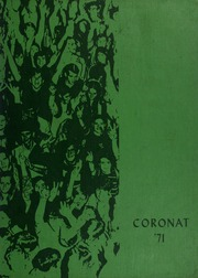 1971 Edition, King High School - Coronat Yearbook (Corpus Christi, TX)