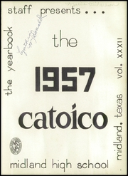Page 5, 1957 Edition, Midland High School - Catoico Yearbook (Midland, TX) online yearbook collection