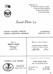 Page 299, 1964 Edition, Monterey High School - Chaparral Yearbook (Lubbock, TX) online yearbook collection