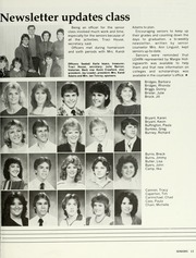Page 17, 1984 Edition, Monterey High School - Chaparral Yearbook (Lubbock, TX) online yearbook collection
