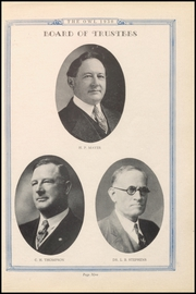 Page 13, 1930 Edition, Paris High School - Owl Yearbook (Paris, TX) online yearbook collection