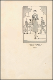 Page 5, 1932 Edition, Paris High School - Owl Yearbook (Paris, TX) online yearbook collection