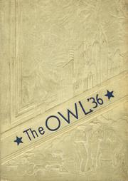 Paris High School - Owl Yearbook (Paris, TX) online yearbook collection, 1936 Edition, Page 1