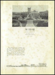 Page 5, 1938 Edition, Paris High School - Owl Yearbook (Paris, TX) online yearbook collection