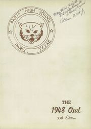 Page 5, 1948 Edition, Paris High School - Owl Yearbook (Paris, TX) online yearbook collection