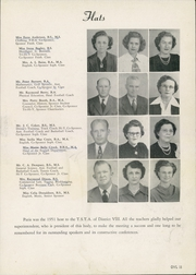 Page 17, 1951 Edition, Paris High School - Owl Yearbook (Paris, TX) online yearbook collection