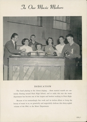 Page 9, 1951 Edition, Paris High School - Owl Yearbook (Paris, TX) online yearbook collection