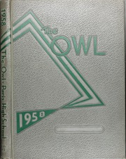 Page 1, 1958 Edition, Paris High School - Owl Yearbook (Paris, TX) online yearbook collection