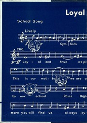 Page 2, 1959 Edition, Paris High School - Owl Yearbook (Paris, TX) online yearbook collection