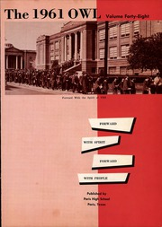 Page 5, 1961 Edition, Paris High School - Owl Yearbook (Paris, TX) online yearbook collection