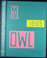 Page 1, 1965 Edition, Paris High School - Owl Yearbook (Paris, TX) online yearbook collection