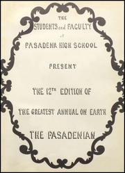 Page 5, 1950 Edition, Pasadena High School - Pasadenian Yearbook (Pasadena, TX) online yearbook collection