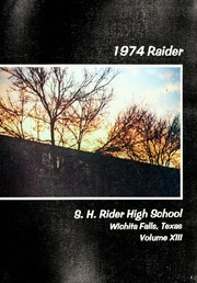 Page 5, 1974 Edition, Rider High School - Raider Yearbook (Wichita Falls, TX) online yearbook collection