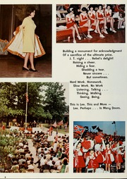 Page 12, 1968 Edition, Robert E Lee High School - Legend Yearbook (Tyler, TX) online yearbook collection