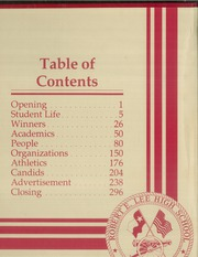 Page 2, 1985 Edition, Robert E Lee High School - Legend Yearbook (Tyler, TX) online yearbook collection