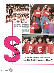 Page 16, 1988 Edition, Robert E Lee High School - Legend Yearbook (Tyler, TX) online yearbook collection