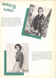 Page 13, 1952 Edition, Tivy High School - Antler Yearbook (Kerrville, TX) online yearbook collection