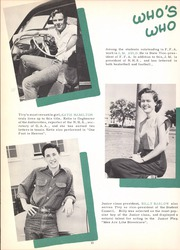 Page 16, 1952 Edition, Tivy High School - Antler Yearbook (Kerrville, TX) online yearbook collection