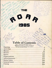 Page 3, 1985 Edition, R L Turner High School - Roar Yearbook (Carrollton, TX) online yearbook collection