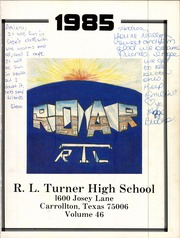 Page 5, 1985 Edition, R L Turner High School - Roar Yearbook (Carrollton, TX) online yearbook collection