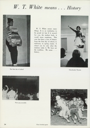 Page 38, 1965 Edition, W T White High School - Saga Yearbook (Dallas, TX) online yearbook collection