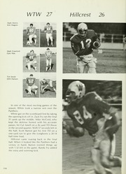 Page 314, 1972 Edition, W T White High School - Saga Yearbook (Dallas, TX) online yearbook collection