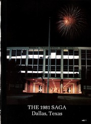 Page 5, 1981 Edition, W T White High School - Saga Yearbook (Dallas, TX) online yearbook collection
