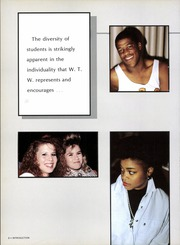 Page 12, 1988 Edition, W T White High School - Saga Yearbook (Dallas, TX) online yearbook collection