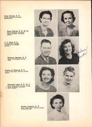 Page 14, 1949 Edition, Arlington High School - Colt Corral Yearbook (Arlington, TX) online yearbook collection