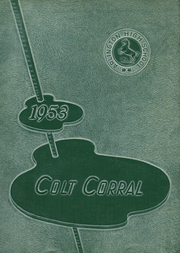 Arlington High School - Colt Corral Yearbook (Arlington, TX) online yearbook collection, 1953 Edition, Page 1