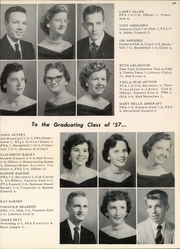 Page 141, 1957 Edition, Arlington High School - Colt Corral Yearbook (Arlington, TX) online yearbook collection