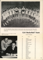 Page 97, 1957 Edition, Arlington High School - Colt Corral Yearbook (Arlington, TX) online yearbook collection