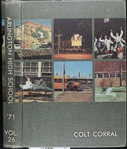 Arlington High School - Colt Corral Yearbook (Arlington, TX) online yearbook collection, 1971 Edition, Page 1