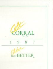 Arlington High School - Colt Corral Yearbook (Arlington, TX) online yearbook collection, 1987 Edition, Page 1