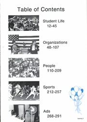 Page 7, 1985 Edition, La Marque High School - Cougar Yearbook (La Marque, TX) online yearbook collection